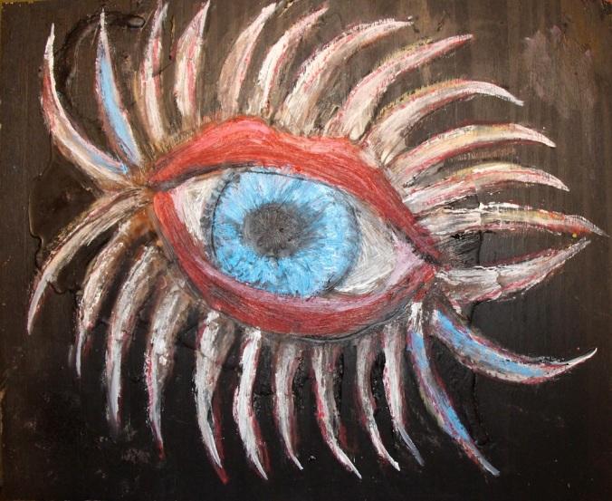 Eyelashed