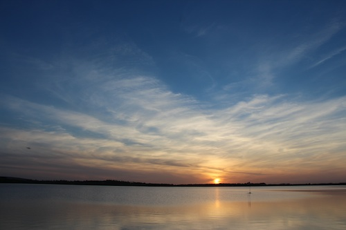 Loughrea Lake Sunset